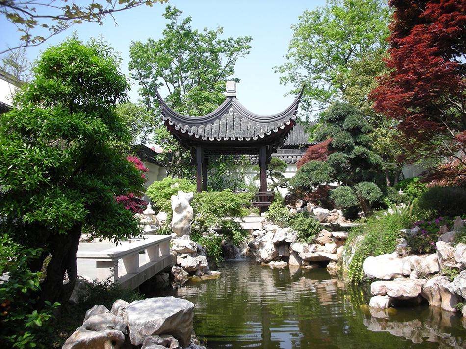 园林风格 > 中式风格_园林景观设计|别墅花园设计||筑