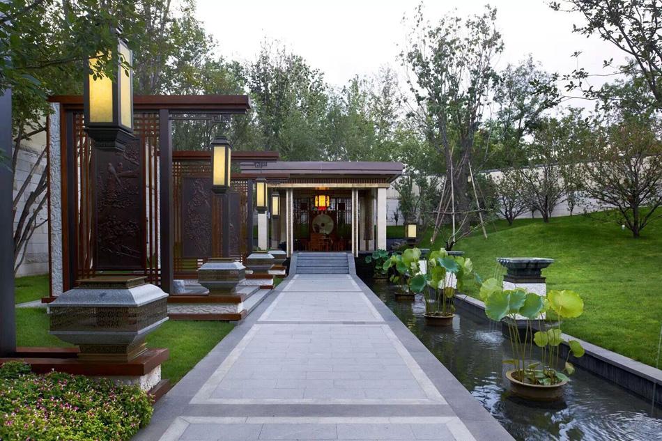 現代中式園林景觀設計風格二